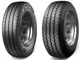 Новая шина Kumho Portran KC53 заменит часть размеров Radial 857