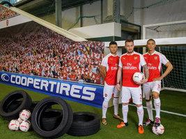 Компания Cooper выпустила новый ролик с участием игроков ФК Арсенал