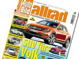 Журнал Auto Bild Allrad провел тесты шин для внедорожников