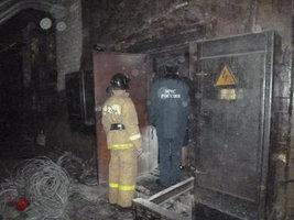 На «Кировском шинном заводе» произошел пожар
