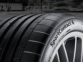 Continental представляет новую спортивную шину SportContact 6