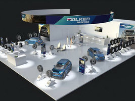 Falken представит новые шины на выставке в Эссене
