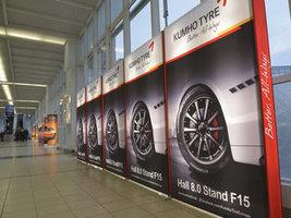 Kumho Tire представит широкий ассортимент шин на выставке Reifen-2016