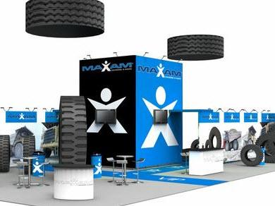 Maxam покажет современные промышленные шины на выставке в Германии