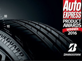 Шина Bridgestone DriveGuard получила награду журнала Auto Express как лучший про