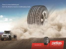 Petlas расширяет свое предложение шин для полноприводных автомобилей