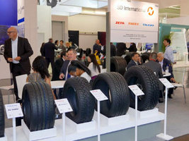 SD-International показала шины брендов Pace и Zeta на выставке в Германии