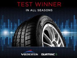 Лидерами тестов Auto Bild Allrad стали шины Vredestein Quatrac 5