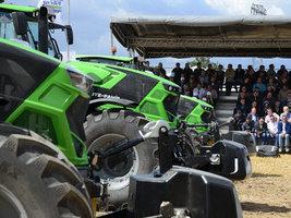 BKT приняла участие в тестах тракторов Deutz-Fahr