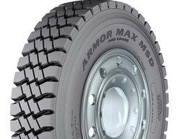 Goodyear представляет новую промышленную шину Armor Max