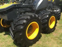 Компания Trelleborg показала возможности своих шин для лесного хозяйства в Виско