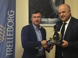 Сельхозшины Trelleborg получили награду в Испании