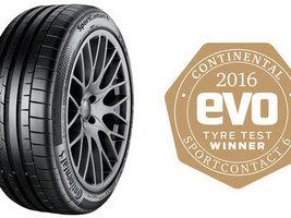 Шины Continental SportContact 6 стали победителями тестов журнала Evo