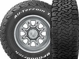 Michelin выпускает новые типоразмеры шины BFGoodrich All-Terrain T/A KO2