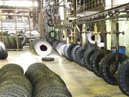 АШК устанавливает новое оборудование для производства шин