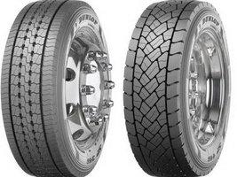 Dunlop выпускает новые зимние грузовые шины SP346 и SP446