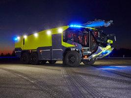 Starco поставляет продукцию для работающих в аэропортах пожарных машин Rosenbaue
