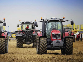 Шины Trelleborg ProgressiveTraction выбраны для трактора Massey Ferguson 6718 S