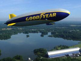 Новому дирижаблю Goodyear официально дали имя