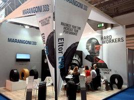 Marangoni показала шины Eltor Evo на британской выставке