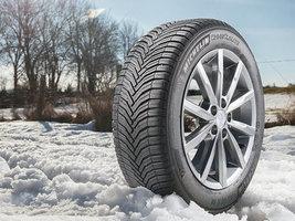Этой зимой Michelin выпустит новое поколение 'всепогодных' шин CrossClimate