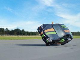 Nokian помогла установить новый рекорд по езде на двух колесах