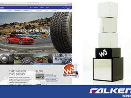 Сайт Falken Tires получил две престижные награды W3 Award