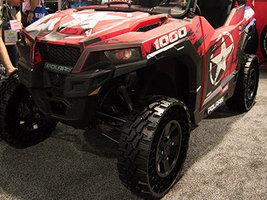 Kenda и Polaris показали безвоздушную шину для мотовездеходов