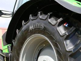 Mitas повысит на 5% цены на свои сельскохозяйственные шины