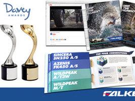 Рекламная кампания Falken получила награды Davey Awards-2016