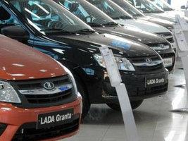 Продажи автомобилей в России показали рост впервые за два года