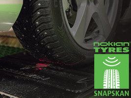 SnapSkan от Nokian Tyres – новое слово в безопасности на дороге