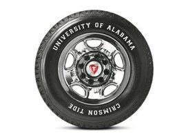 Компания Bridgestone Americas выпустила шины в честь университета штата Алабама