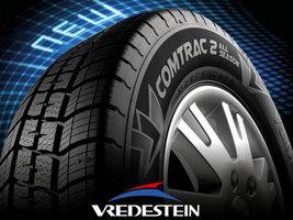 Бренд Vredestein представил на AutoZum новую шину Comtrac 2 All Season
