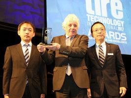 Технология моделирования шинного компаунда от Sumitomo и Falken получила награду