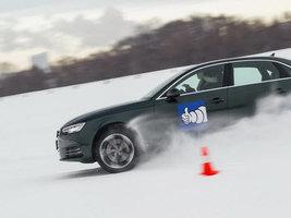 Компания Michelin провела испытания зимних шин на Гребном канале