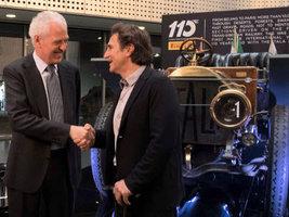 Pirelli отмечает в Турине 110-летний юбилей участия в автоспорте