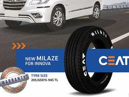 CEAT выпускает новые шины MILAZE для такси