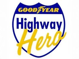 Компания Goodyear вручила ежегодную награду Highway Hero Award