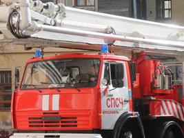 На Ярославском шинном заводе произошел пожар