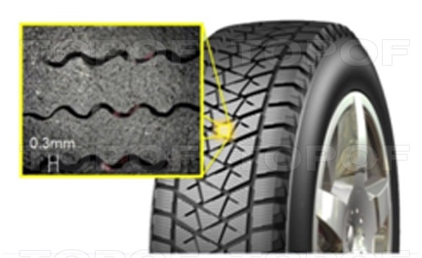 3D ламели Bridgestone Blizzak DM-V2