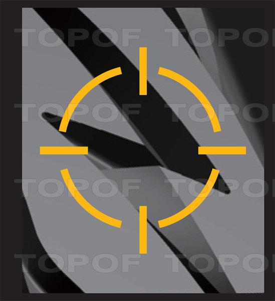 Технология шины Bridgestone MY-02 Sporty Style. Увеличенный размер блоков