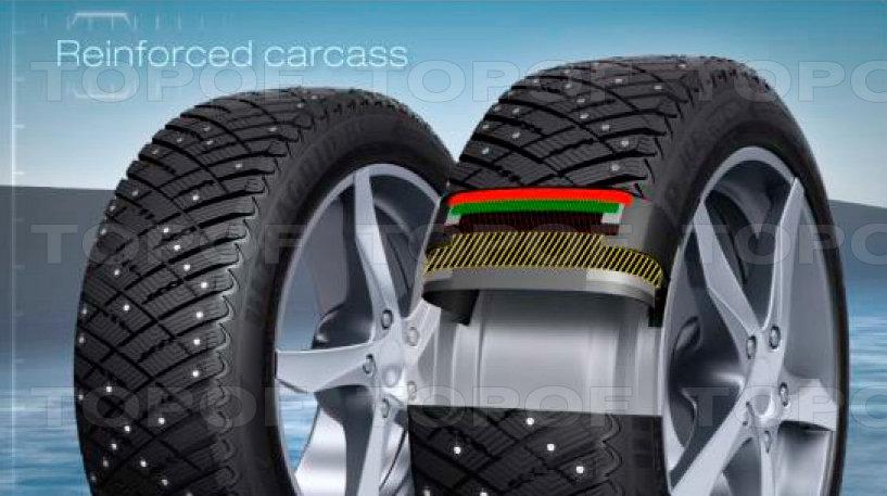 Особенности модели Goodyear  Ultra Grip Ice Arctic