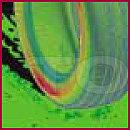 Трехмерное моделирование ситуации аквапланирования шины Kumho Solus KH15