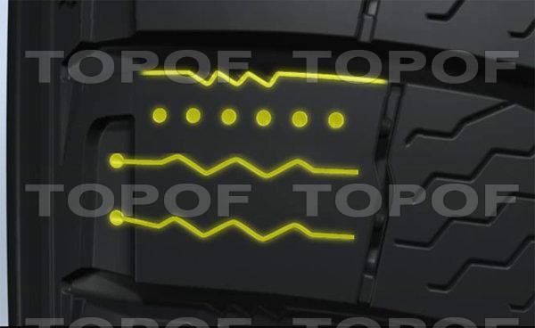 Новая конфигурация блока протектора Michelin X-Ice 3