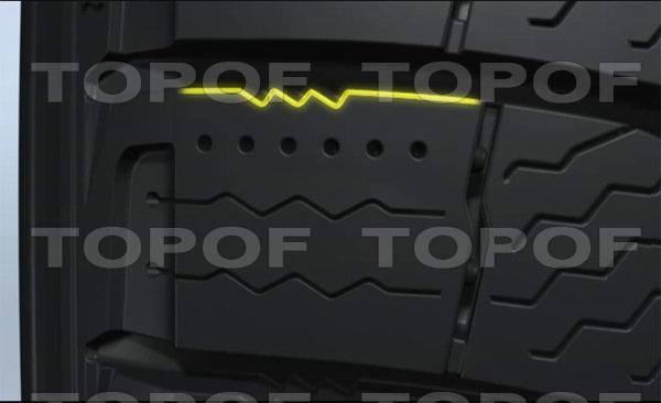 Пилообразные кромки шин Michelin X-Ice 3