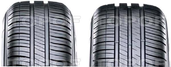 Два рисунка протектора Michelin Energy XM2