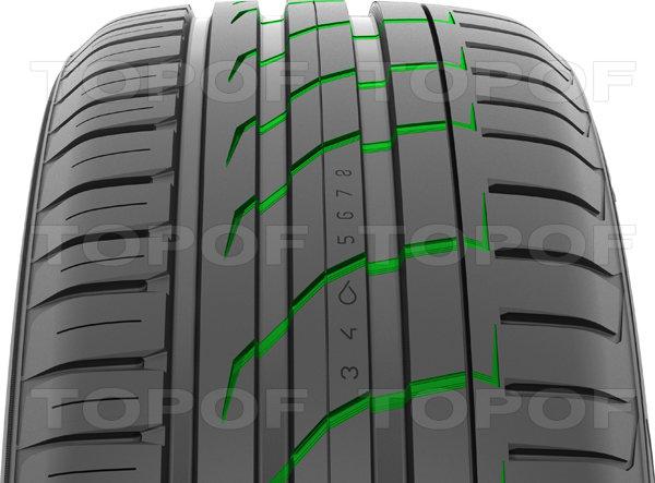 Перьевые канавки Nokian Hakka Black SUV предотвращают аквапланирование