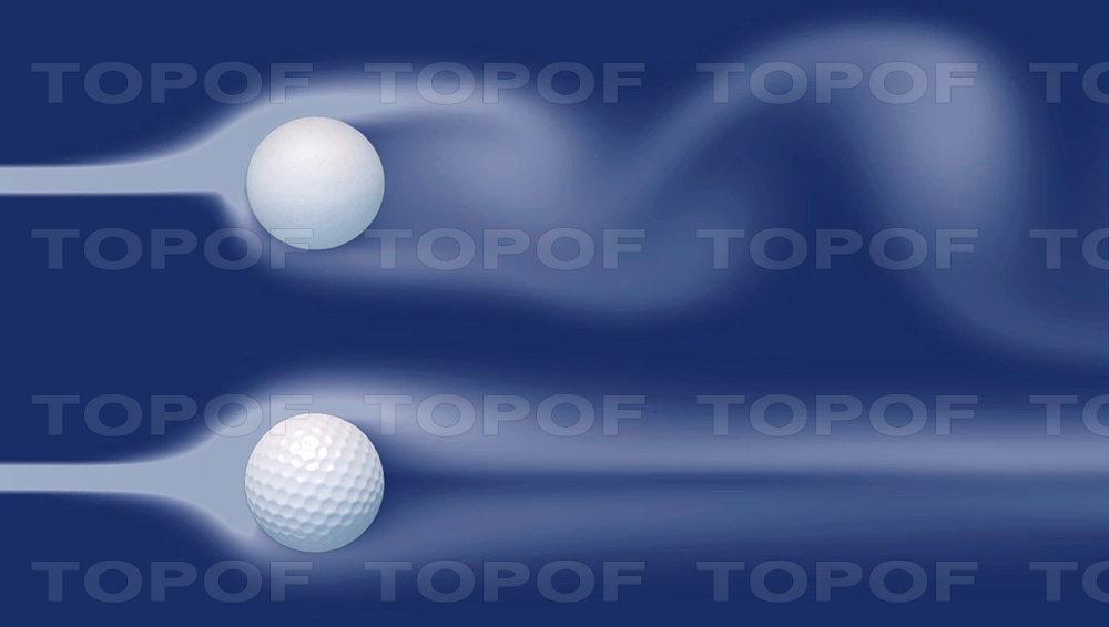 Форма мяча для гольфа канавок Nokian Hakka Green