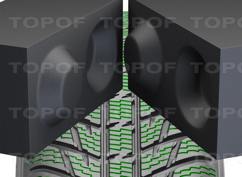Закрывающиеся 3D ламели Nokian WR SUV 3